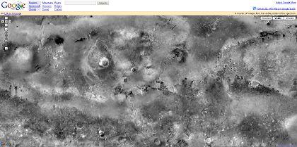 Google Maps Mars