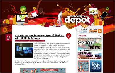 Webdesigner Depot Multiple Screens