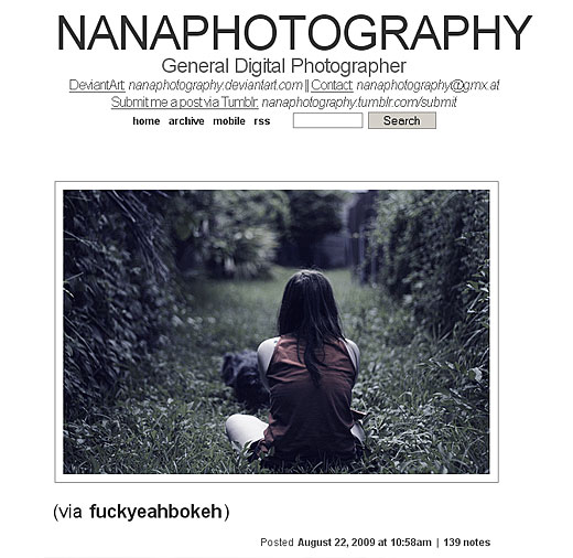 nanaphotography thumblr blog