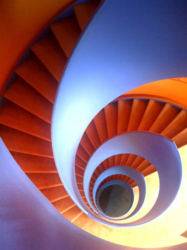 iphoneography iphone fotografie photography orange stairs circle