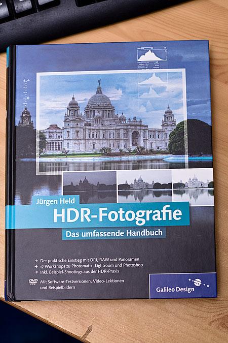HDR Fotografie Buch von Jürgen Held Herausgeber Galileo Design